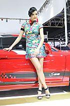 江淮展台1号模特