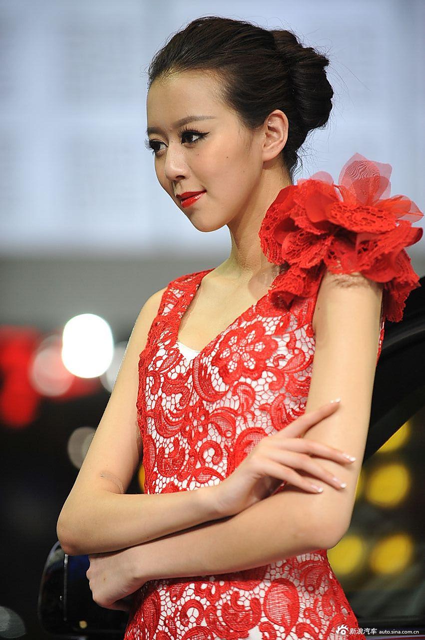 红旗展台1号模特