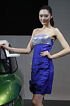 铃木展台6号模特