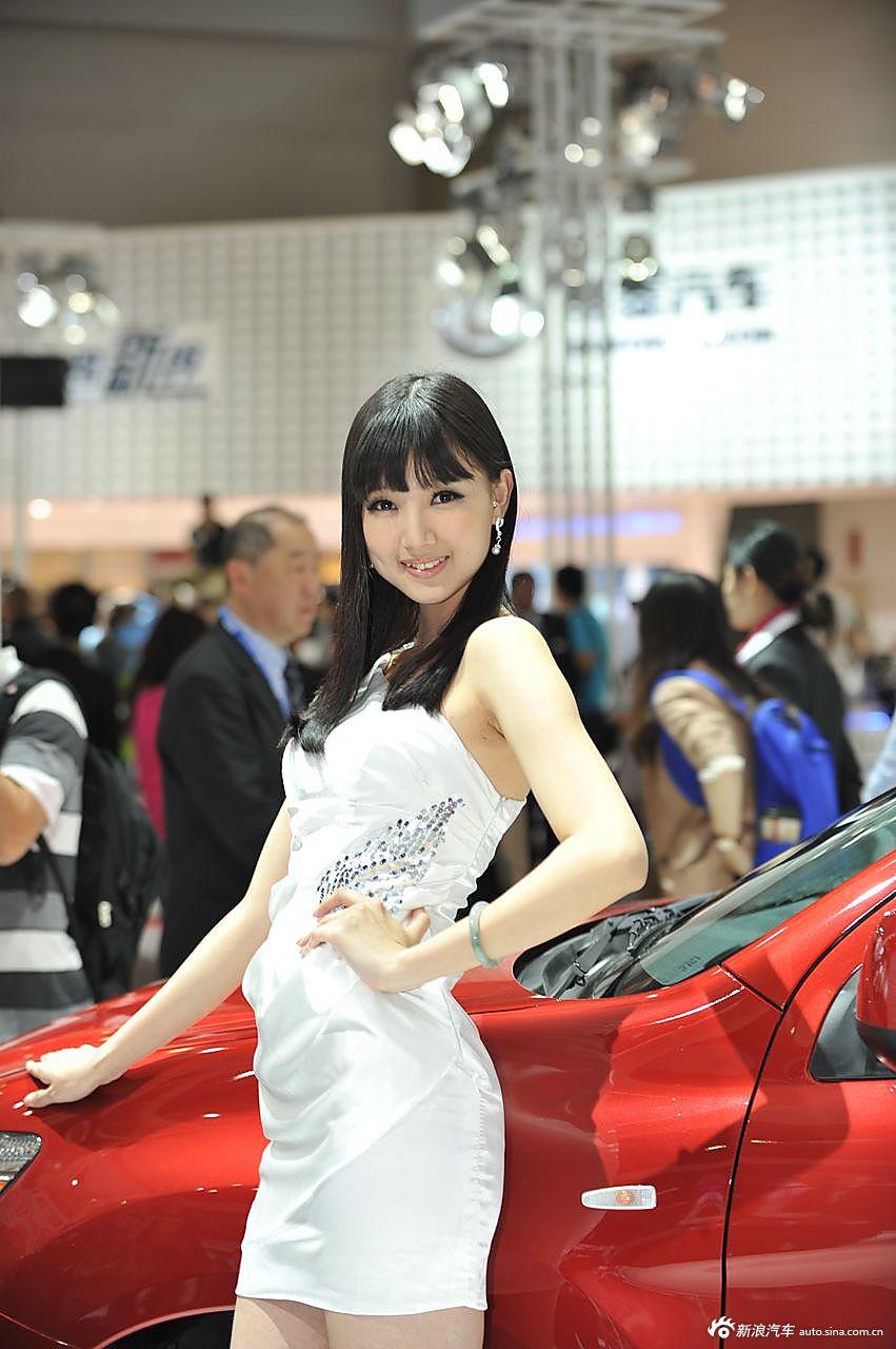 三菱展台1号模特