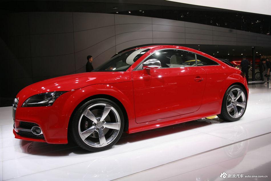 2012北京车展奥迪TTS实拍