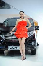 2012北京车展美腿车模_2