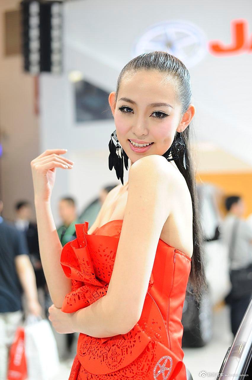 江淮展台10号模特