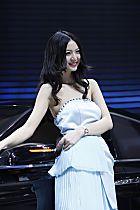北京汽车展台3号模特
