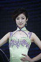 北京汽车展台5号模特
