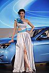 中国一汽展台1号模特