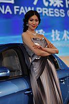 中国一汽展台4号模特