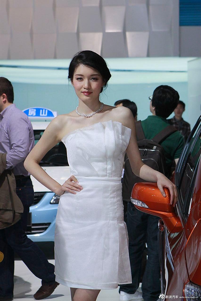 长安展台2号模特