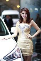 北京汽车7号模特