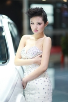 北京汽车9号模特