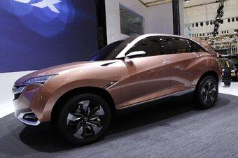 讴歌SUV-X概念车