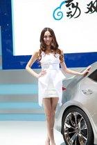 丰田展台2号模特