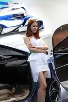 丰田展台4号模特