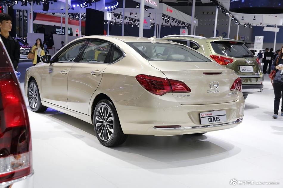 2014年第12届广州国际车展 图为:传祺GA6