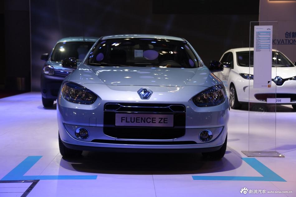2014年第12届广州国际车展 图为:FLUENCE ZE