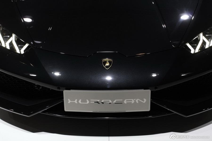 2014年第12届广州国际车展 图为:兰博基尼 Huracan