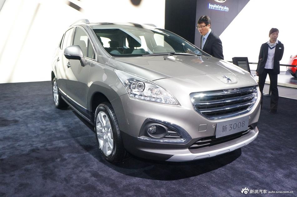 2014年第12届广州国际车展 图为:标致3008