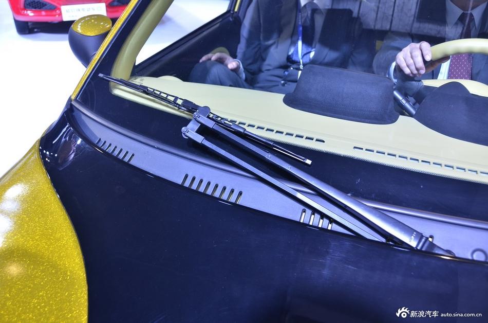 2014年第12届广州国际车展 图为:知豆