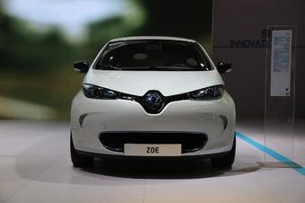 2014年第12届广州国际车展 图为:ZOE