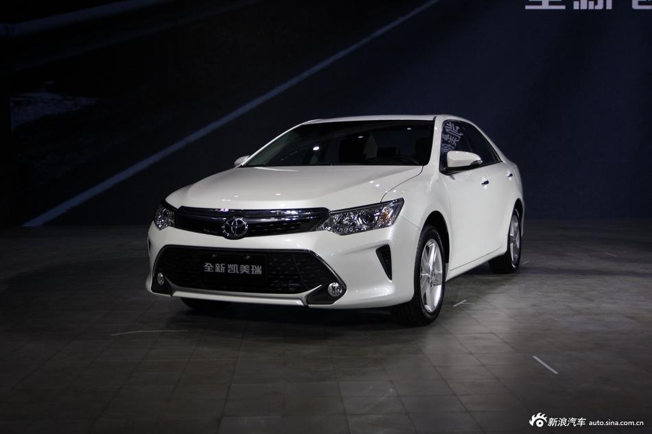 2014年第12届广州国际车展 图为:2015款凯美瑞