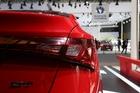 2014年第12届广州国际车展 图为:MG GT