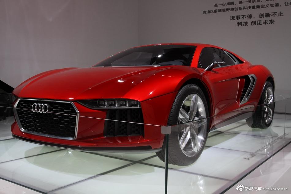 2014年第12届广州国际车展 图为:奥迪Nanuk Quattro
