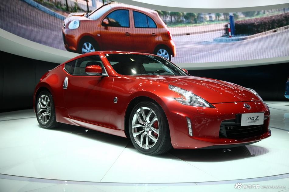 2014年第12届广州国际车展 图为:日产370Z