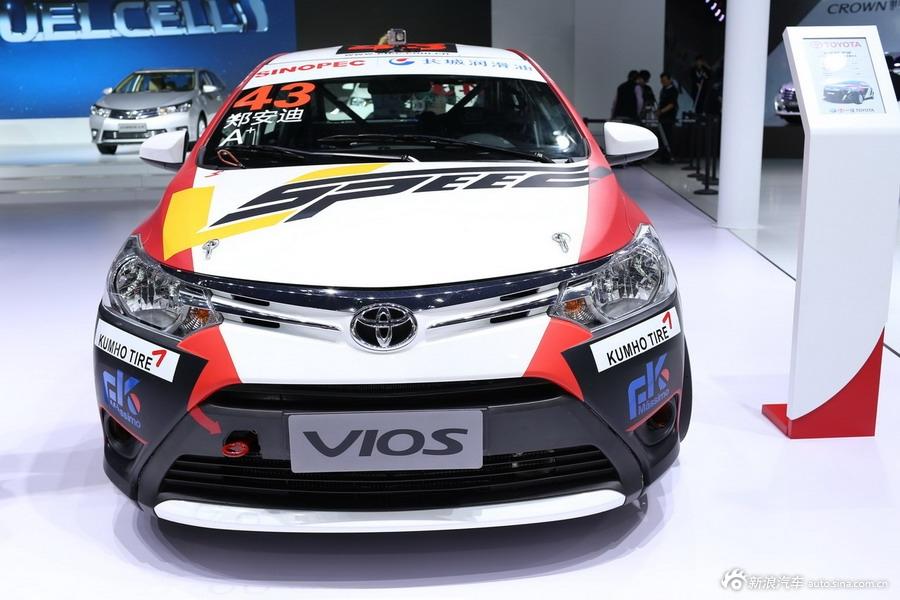 2014年第12届广州国际车展 图为:丰田 威驰
