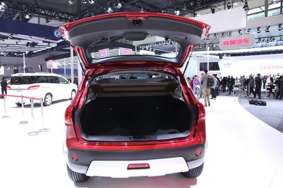 2014年第12届广州国际车展 图为:东风日产逍客