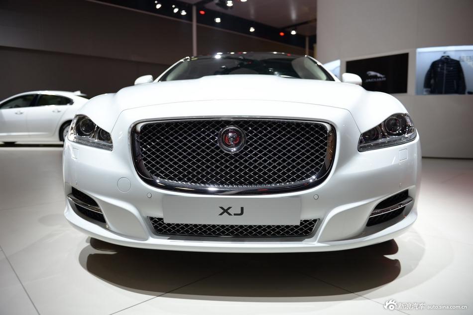 2014年第12届广州国际车展 图为:捷豹XJL剑桥限量版