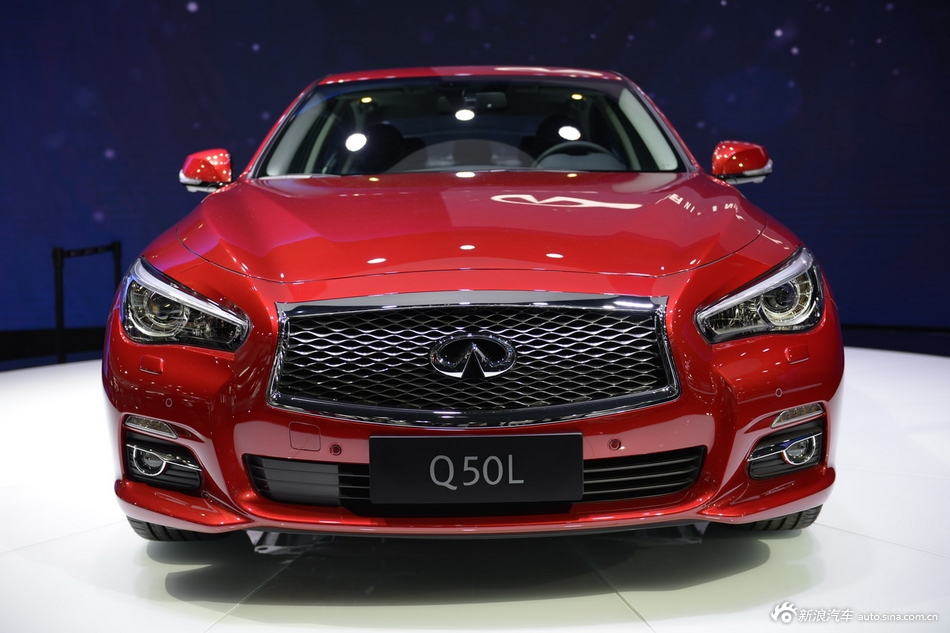 2014年第12届广州国际车展 图为:英菲尼迪Q50L