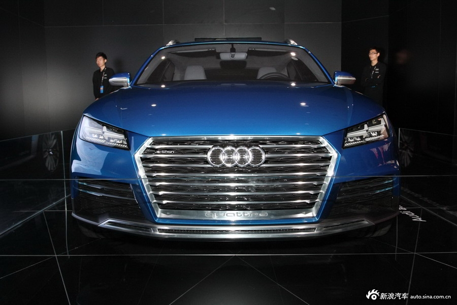2014年第12届广州车展 图为:奥迪 allround