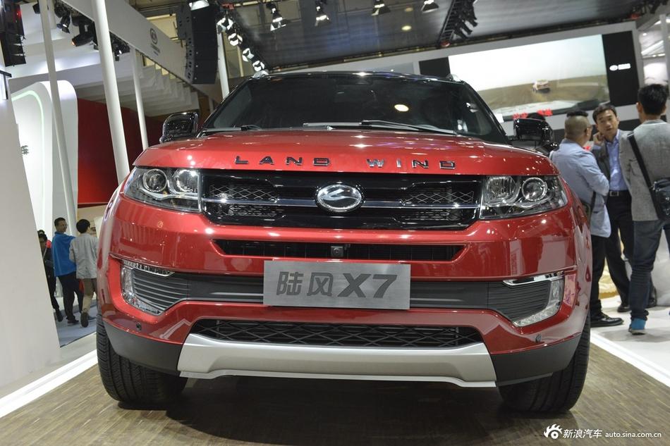 2014年第12届广州国际车展 图为:陆风X7