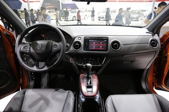 2014年第12届广州国际车展 图为:2015款XR-VXR-V