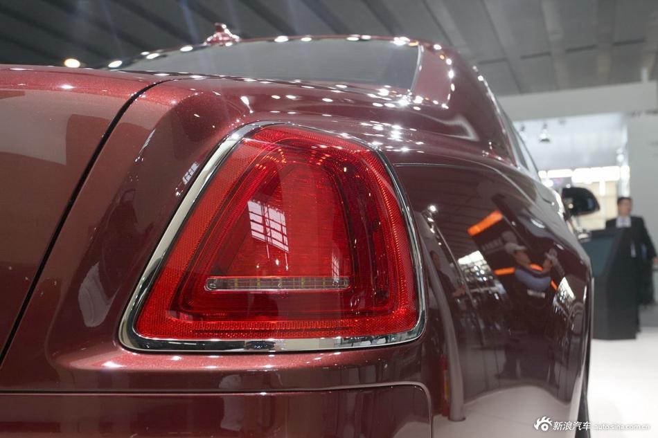2014年第12届广州国际车展 图为:劳斯莱斯古思特