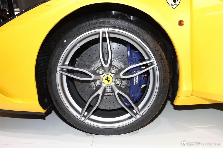 2014年第12届广州国际车展 图为:法拉利458 Speciale A