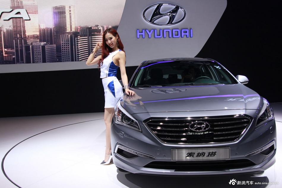 2014年第12届广州国际车展 图为:现代索纳塔九