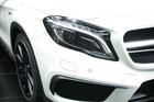 2014年第12届广州国际车展 图为:奔驰GLA45 AMG 4MATIC