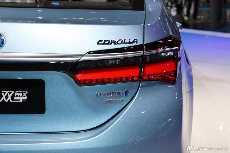 2015上海车展:丰田卡罗拉双擎