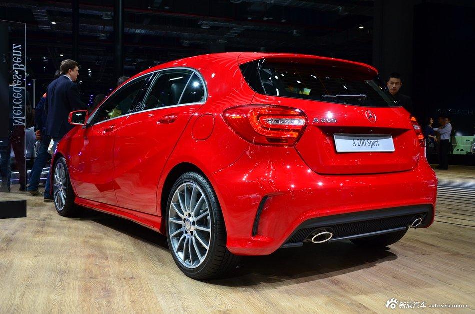 2015上海车展:奔驰A200 sport