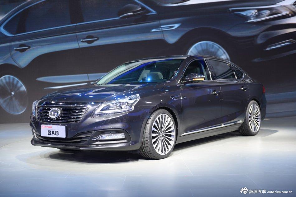 2015上海车展:传祺GA8