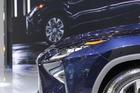 2015上海车展:雷克萨斯RX450h