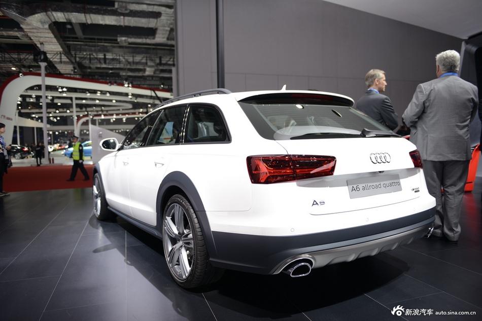 2015上海车展:奥迪A6 allroad quattro