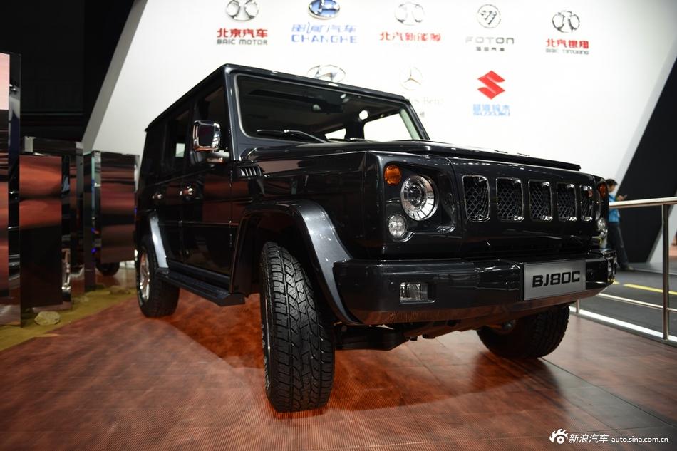 2015上海车展:北京BJ80C