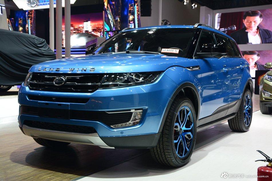 2015上海车展:陆风X7