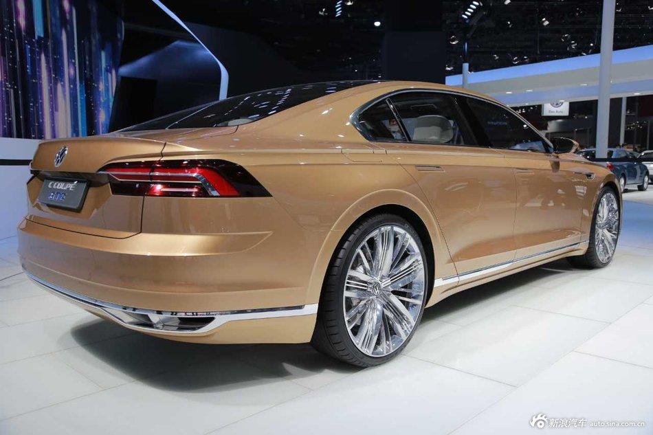 2015上海车展:大众C Coupe GTE