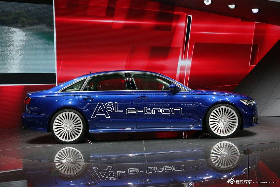 2015上海车展:奥迪A6L e-tron