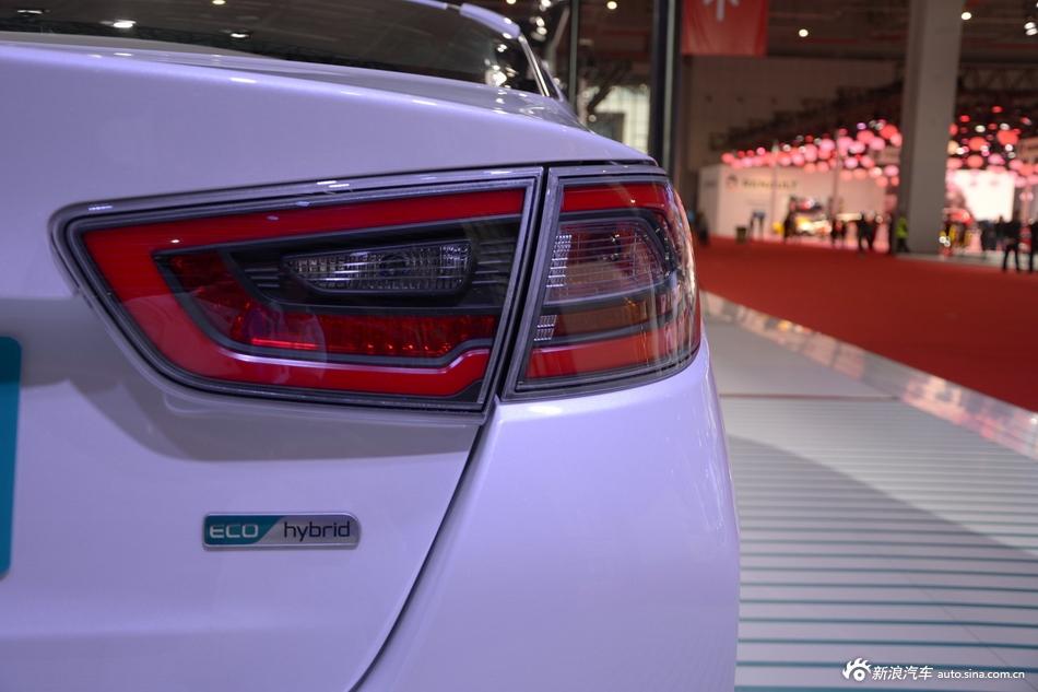 2015上海车展:起亚K5混动版