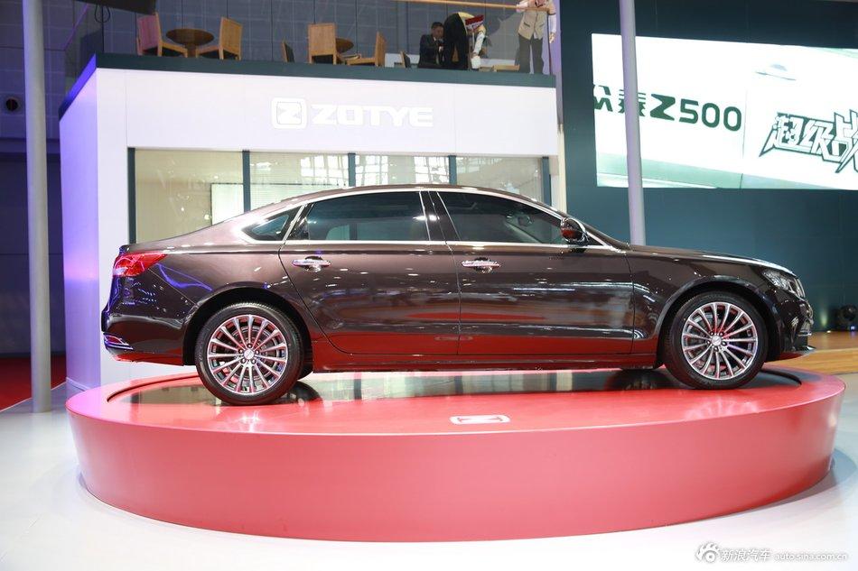 2015上海车展:众泰Z700