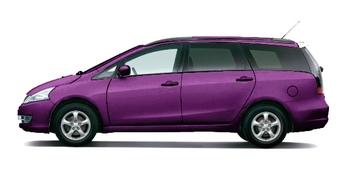 浅紫色云母色